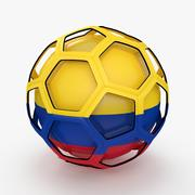 Soccerball TV show Colombia 3d model
