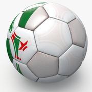 Soccerball pro triangles Algeria 3d model