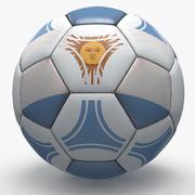 Soccerball pro triangles Argentina 3d model