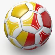 Soccerball pro triangles Belgium 3d model