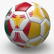 Soccerball pro triangles Cameroon 3d model
