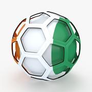 足球电视节目Cote DIvoire 3d model