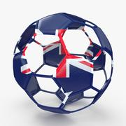 Soccerball wire B Australia 3d model
