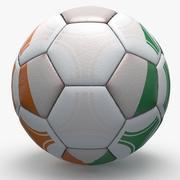 Soccerball Pro三角形Cote DIvore 3d model