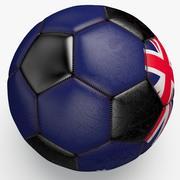 Soccerball Australia 3d model