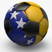 Soccerball Bosnia 3d model