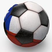 Soccerball Chile 3d model