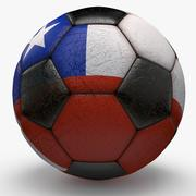 Soccerball Colombia 3d model