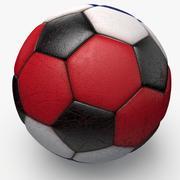 Soccerball Costa Rica 3d model