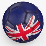 Soccerball pro Australië 3d model