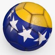 Soccerball pro Bosnia 3d model