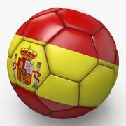 Soccerball pro sauberes Spanien 3d model