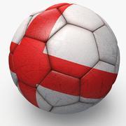Soccerball pro Engeland 3d model