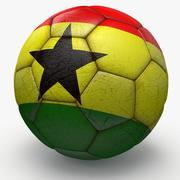 Soccerball pro Ghana 3d model