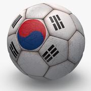 Soccerball pro Korea 3d model