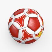 Soccerball pro triangles China 3d model