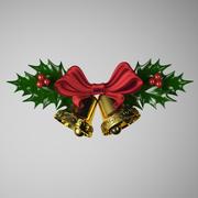 Campanas de navidad modelo 3d