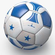 Soccerball pro triangles Honduras 3d model