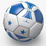 Soccerball pro triangles Honduras 3d model