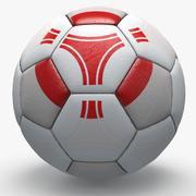 Soccerball pro üçgenler Japonya 3d model
