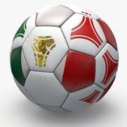 Soccerball pro triangles Mexico 3d model