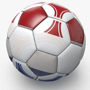 Soccerball pro triangles Netherlands 3d model
