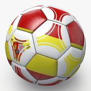 Soccerball pro triangles Spain 3d model