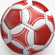Soccerball pro triangles Switzerland 3d model