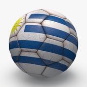 Soccerball pro Uruguay 3d model