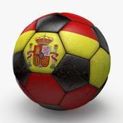 Soccerball Spain 3d model