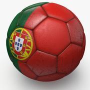 Soccerball pro Portugal 3d model