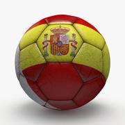 Soccerball pro Spanje 3d model