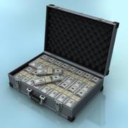Geld Koffer 3d model