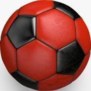 Piłka nożna Chiny 3d model