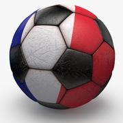 Soccerball France 3d model