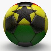 Soccerball Ghana 3d model