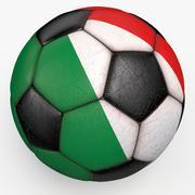 Soccerball Italy 3d model