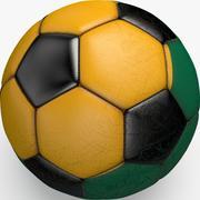 Soccerball Lituanie 3d model