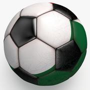 Soccerball Mexico 3d model