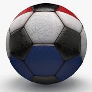 Soccerball Netherlands 3d model