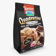 Loacker Quadratini Dark Chocolate Wafers 3d model