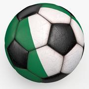 Soccerball Nigeria 3d model