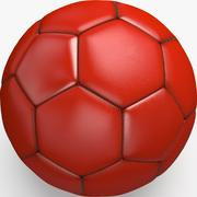 Soccerball pro sauberes China 3d model