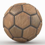 Soccerball fancy old 3d model