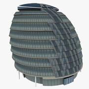 London City Hall 3d model