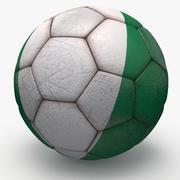 Soccerball pro Nigeria 3d model