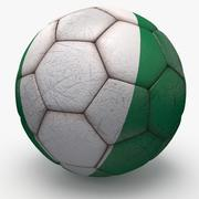Soccerball pro Nijerya 3d model