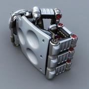 Mão robô 3d model