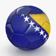 足球波斯尼亚黑塞哥维那 3d model