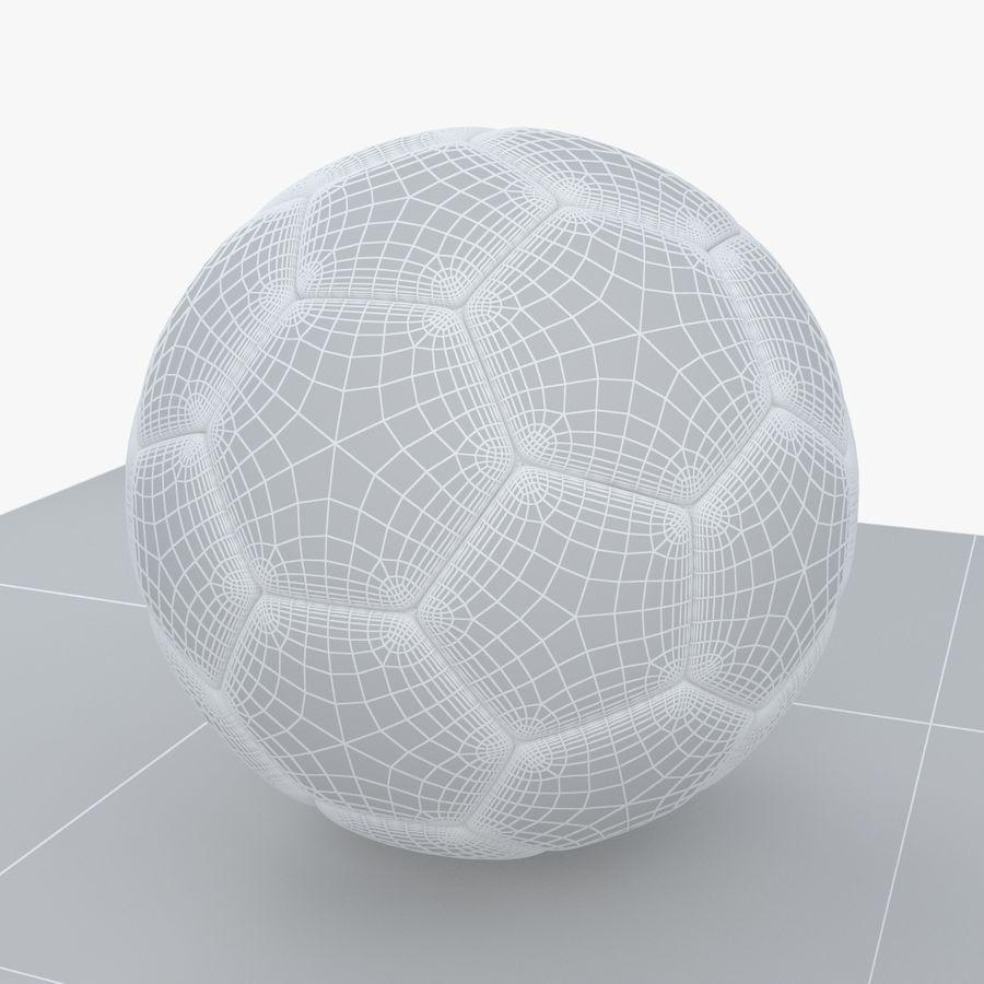 Soccerball Brésil royalty-free 3d model - Preview no. 8